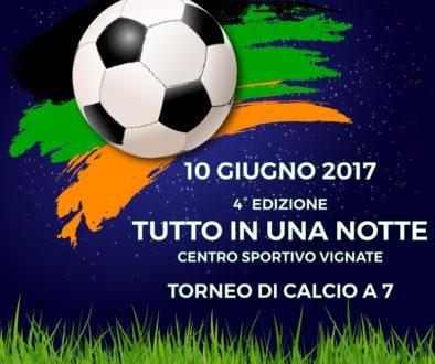Torneo Tutto in una Notte 2017